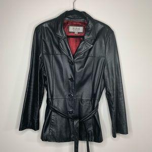 Wilsons Leather Maxima Black Leather Jacket